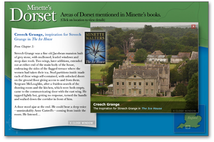 Click to launch Minette's Dorset interactive map »